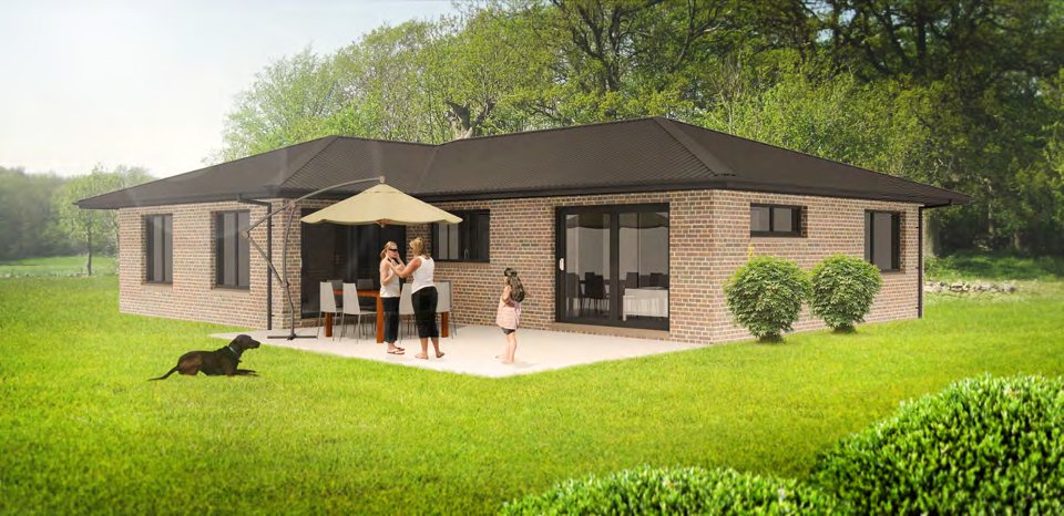 3D rendering of Madison House
