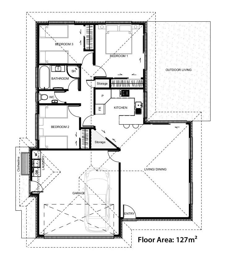 Floor plans for Madison House