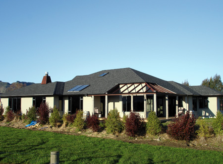 Marer Home, Straw Bale Construction, Brightwater, Nelson, NZ.