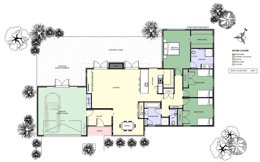 The gallery for the waltons house floor plan for Walton house floor plan