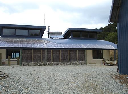 Williams Home, Straw Bale, Marlborough Sounds, NZ