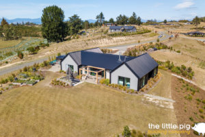 aerial view of home nz