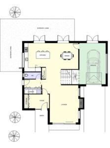 Leeston plans ground floor