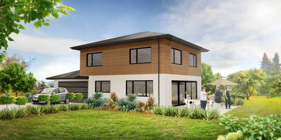3D rendering of Orlando House