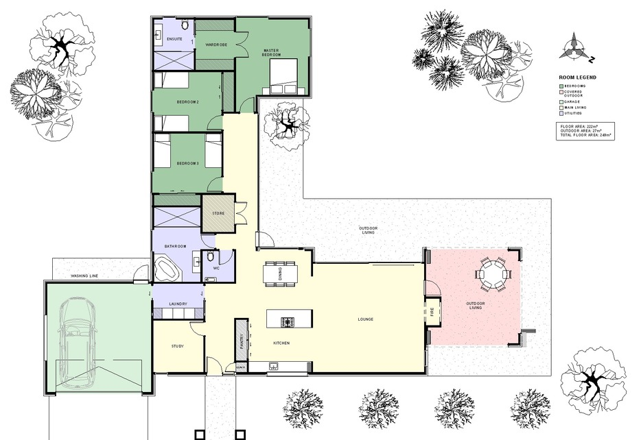 Plans for the Seedon home
