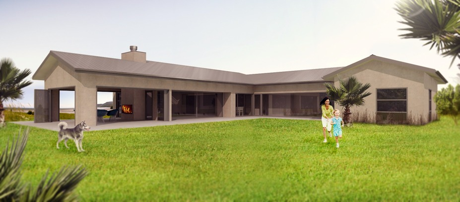 Artists impression of Seedon house