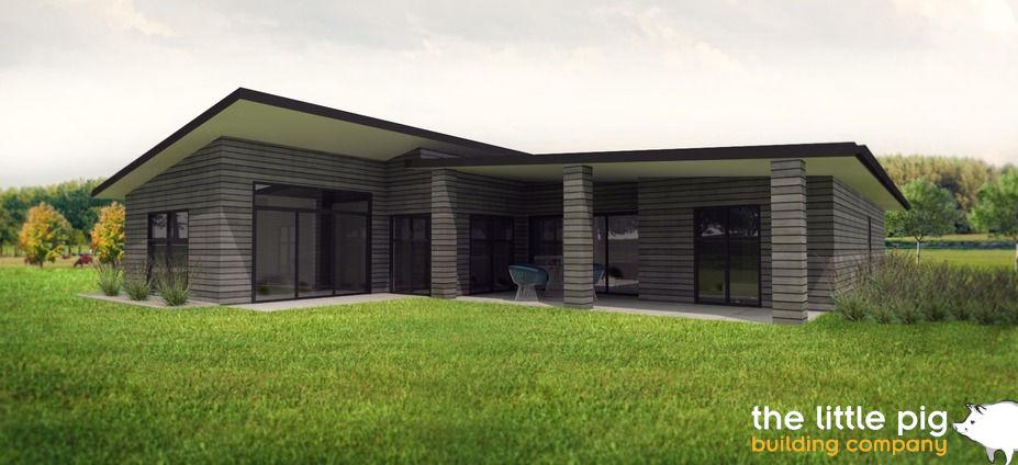 Albury House 3D render