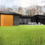 Benhar house 3D render