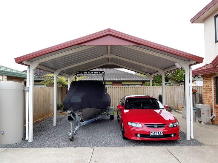A Formsteel carport