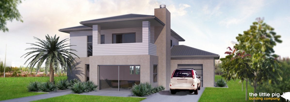 Leeston 3D render