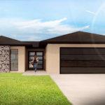 Montana home 3D render