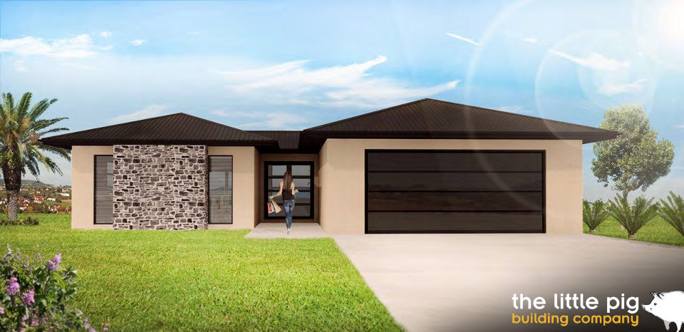3D rendering of the Montana House
