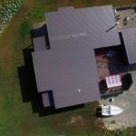 Passive Solar House - roof shot